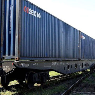 В Украину прибыли еще два контейнерных поезда из Китая