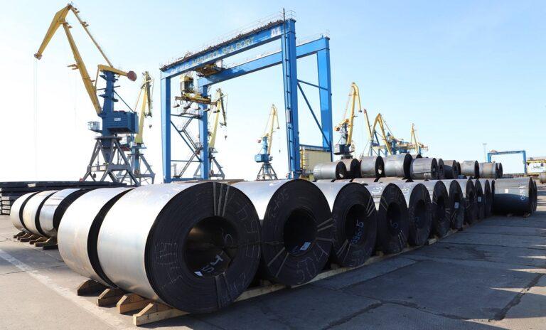 В первом полугодии экспортировано 9,2 млн тонн черных металлов на $3,9 млрд — ГТС