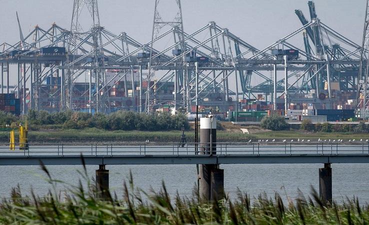 В первом полугодии порт Антверпен сократил грузооборот на 4,9%