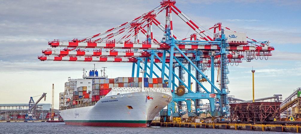 В первом полугодии контейнерный терминал ТИС увеличил оборот на 23,4%