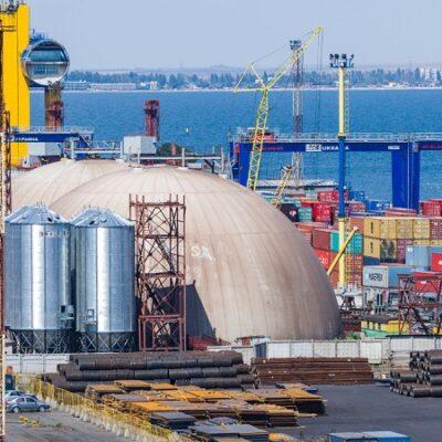 В первом полугодии Одесский порт незначительно сократил грузооборот