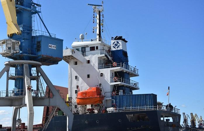 С начала месяца госстивидор ММТП обработал 150 тыс. тонн грузов