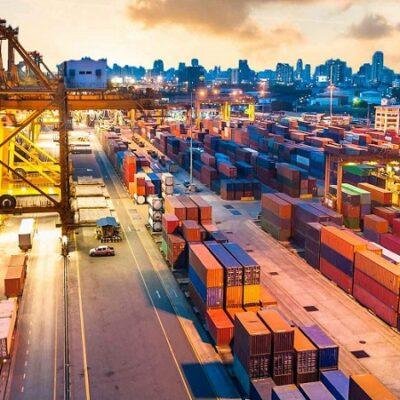 В первом полугодии порт Шанхай сократил контейнерооборот на 6,8%