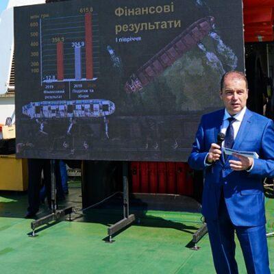 В первом полугодии госстивидор «Южный» получил прибыль 358,5 млн грн
