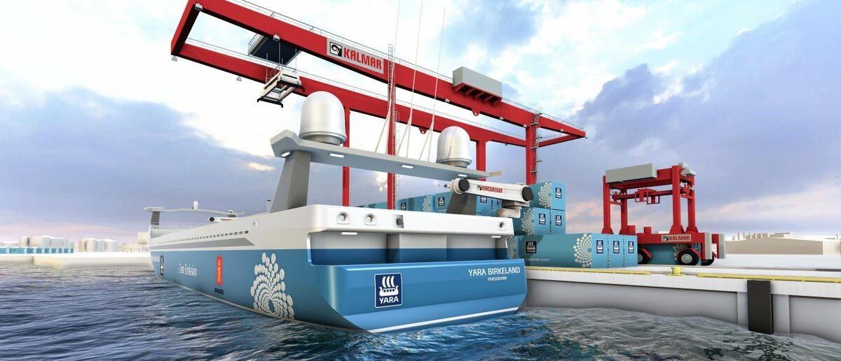 Близкое будущее: автономные суда в автоматизированных портах
