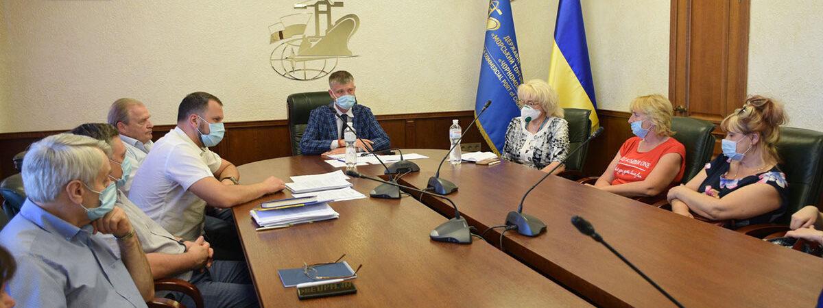 В первом полугодии госстивидор «Черноморск» сократил убыток в 40 раз