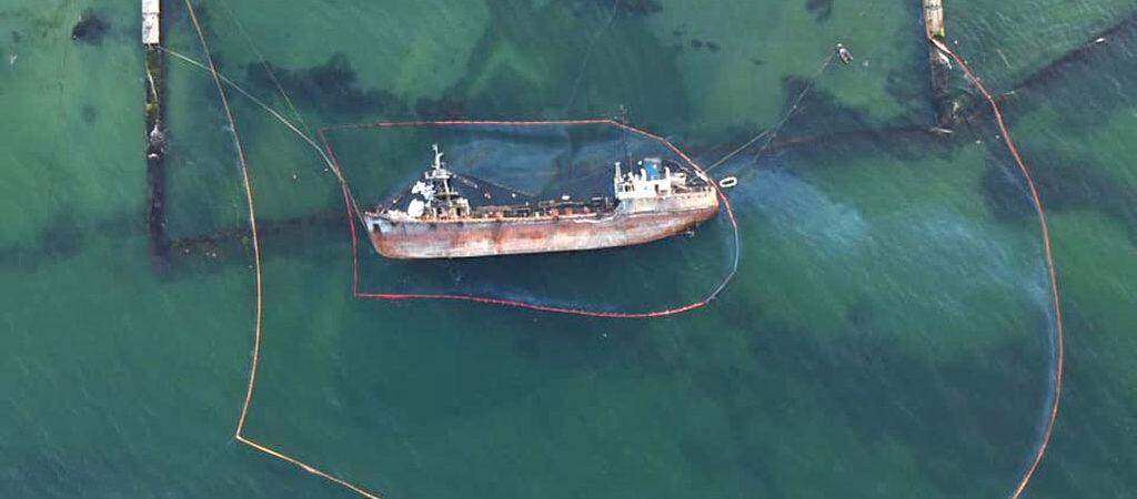 АМПУ начала переговоры с возможными подрядчиками подъема затонувшего танкера Delfi