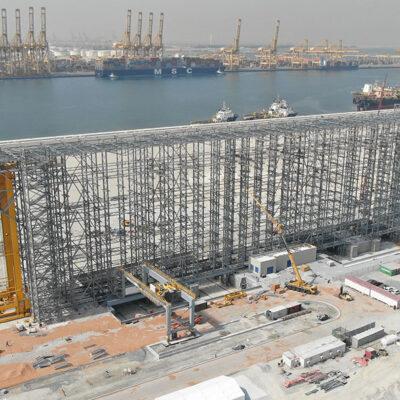 DP World проведет испытание инновационной системы хранения контейнеров в порту Джебель-Али