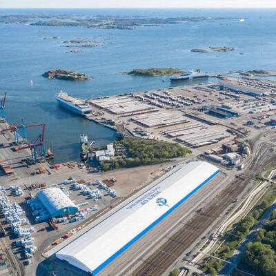 В Гетеборге откроют терминал для лесных грузов в контейнерах