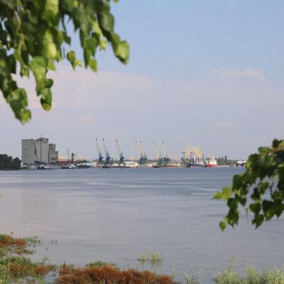 В первом полугодии Измаильский порт сократил грузооборот на 27,4%