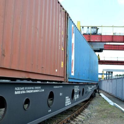 В первом полугодии УЗ увеличила перевозку контейнеров на 14%