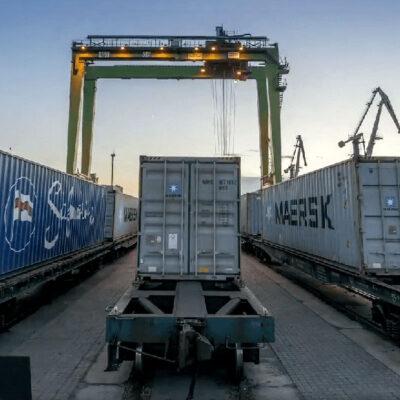 Регулярные поезда в сообщении ТИС—Киев перевезли 33 тыс. контейнеров