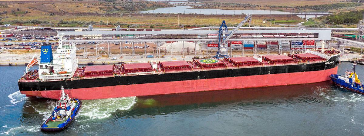 Терминал Neptune с начала работы перевалил 4 млн тонн зерновых