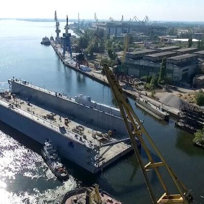 «Паллада» проектирует плавучий причал из сверхпрочного «морского» бетона
