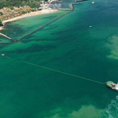 МИУ установило владельцу затонувшего танкера Delfi крайний срок для его подъема