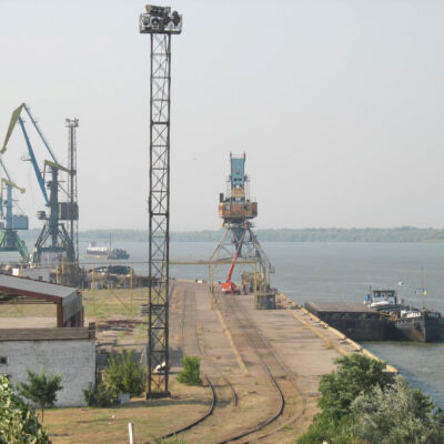 В первом полугодии Ренийский порт сократил грузооборот на 20,1%