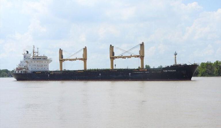 В российском порту задержали грузовое судно Bourbon с украинскими моряками