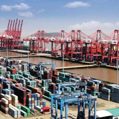 В январе-июле порты Китая увеличили грузооборот на 1,4%
