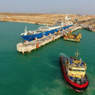 Морпорты Казахстана удвоили количество обработанных большегрузов