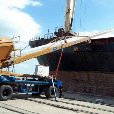 «Аскет Шиппинг» вышел на проектную мощность перевалки зерна