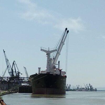 В январе-июле Ренийский порт сократил грузооборот на 25%