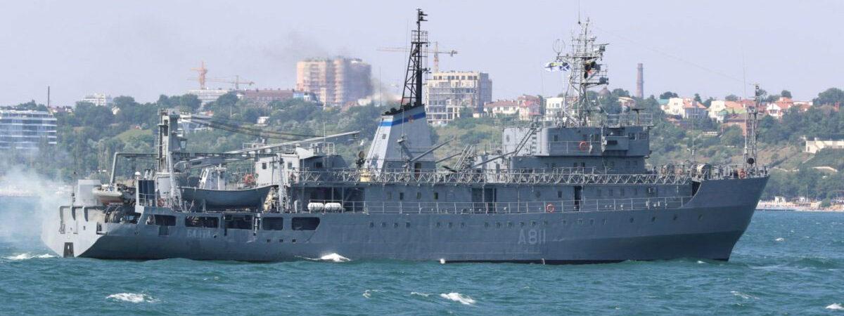 «Нибулон» впервые отремонтирует корабль ВМСУ