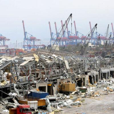 Порт Бейрута восстановил деятельность после взрыва