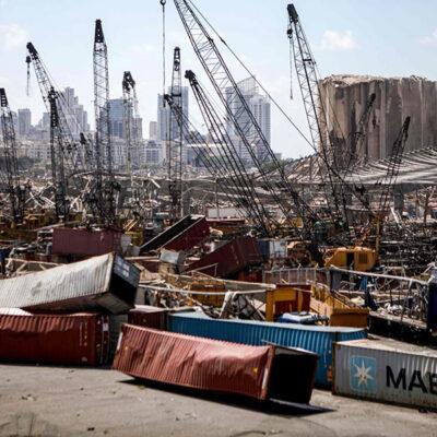 В порту Бейрута обнаружили 79 контейнеров с опасными химическими веществами