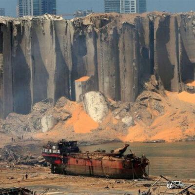 Мощность перевалки зерна в порту Бейрута снизилась после взрыва до 20%