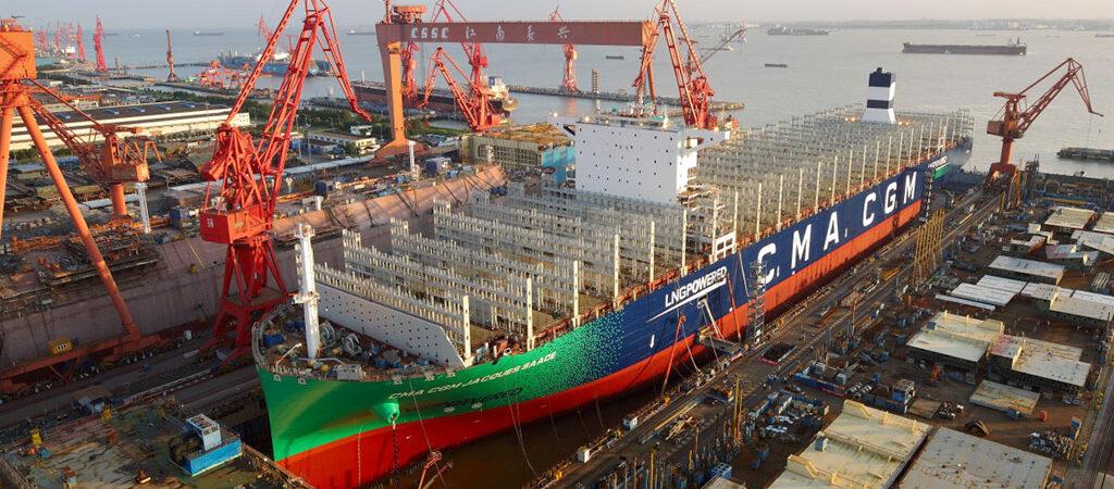 CMA CGM пополнит флот 22 контейнеровозами на экологичном топливе