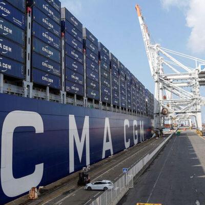 CMA CGM возобновила заходы в порт Бейрута