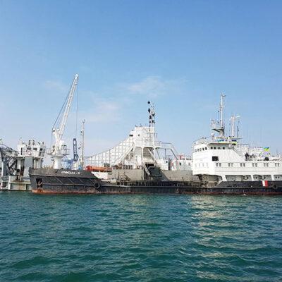 С начала года объем дноуглубления филиалом «Дельта-лоцман» АМПУ превысил 1 млн кубометров