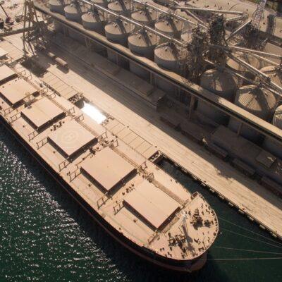 Экспорт зерна отстает от прошлогоднего графика на 6 млн тонн