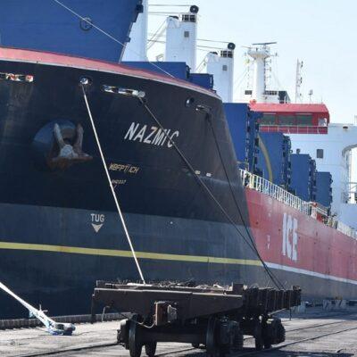 С начала месяца госстивидор ММТП зафиксировал грузооборот 470 тыс. тонн