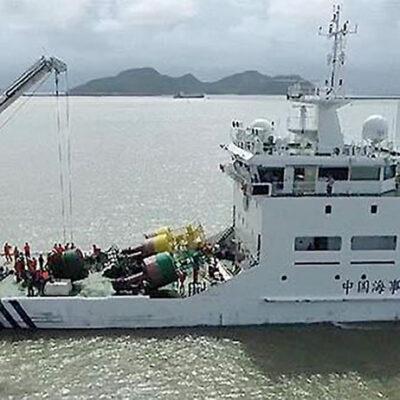 В Китае ввели в эксплуатацию самое крупное маячное судно с системой BeiDou