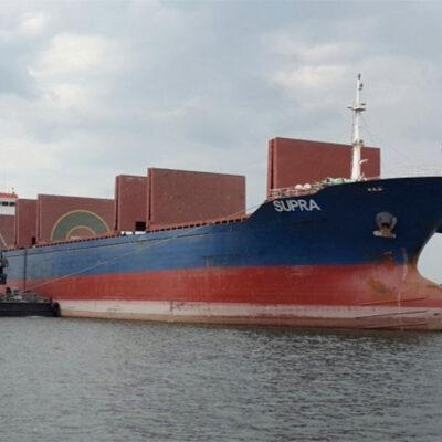 В январе-июле Херсонский порт обработал 373 судна