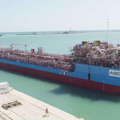В Азербайджане спустили на воду нефтеналивной танкер по украинскому проекту