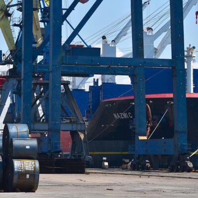 Госстивидор ММТП обработал 423 тыс. тонн грузов с начала месяца