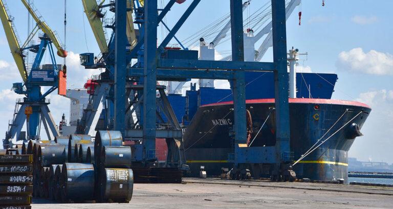 В июле госстивидор ММТП обработал 0,5 млн тонн грузов