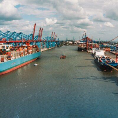 В первом полугодии порт Гамбург сократил грузооборот на 12%