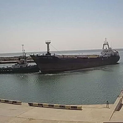 Скадовский порт возобновил перевалку зерна