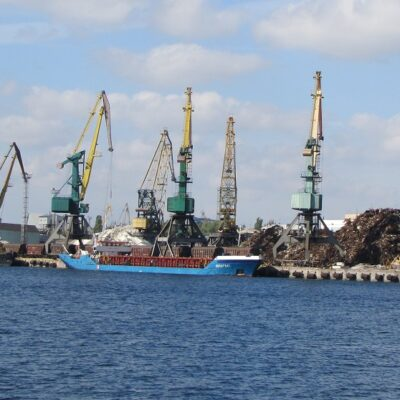 В январе-августе Херсонский порт сократил грузооборот на 19,3%