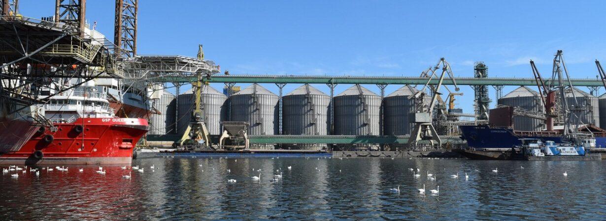 В январе-июле порты Румынии увеличили перевалку зерна на 25,8%