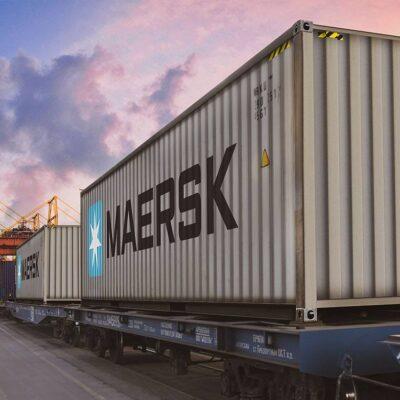 Maersk сделала регулярным комбинированный сервис между Азией и Европой