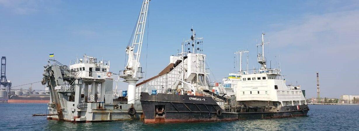 АМПУ начала дноуглубление в порту Черноморск для инвеспроекта Risoil