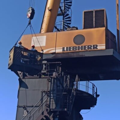 Госстивидор «Южный» отремонтирует 14 портальных кранов в 2020 году