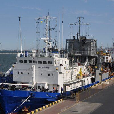 В Одесском порту началось дноуглубление операционной акватории причала №1-з