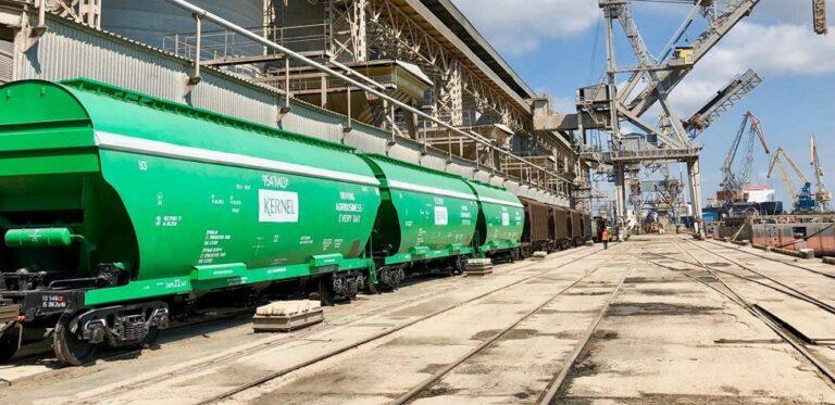 В августе железнодорожные перевозки зерна достигли трехлетнего максимума