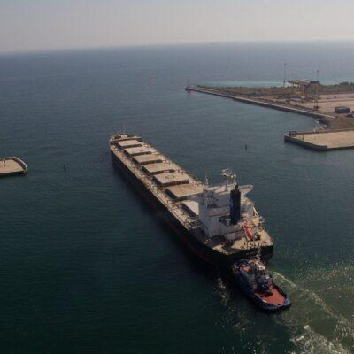 В январе-августе морпорты сократили количество обработанных судов на 7,6%