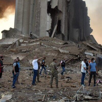 В портовой зоне Бейрута нашли еще несколько тонн аммиачной селитры